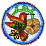 Medallion- Hummingbird 2