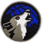 Medallion - Wolf